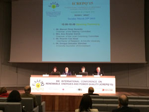 International Conference on Renewable Energies and Power Quality