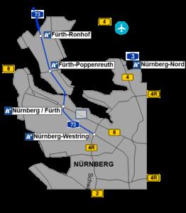 Übersichtskarte Anfahrt